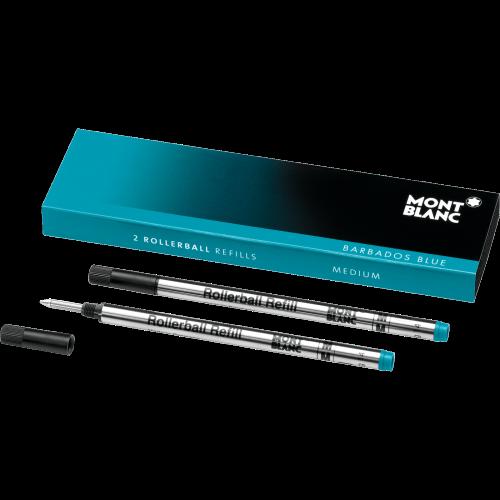 106932 barbados blue montblanc refill per roller lostivale