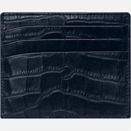 Montblanc 126650 meisterstuck porta carte di credito retro