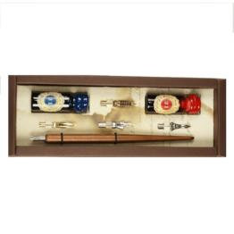 Stilografica in legno Rubinato